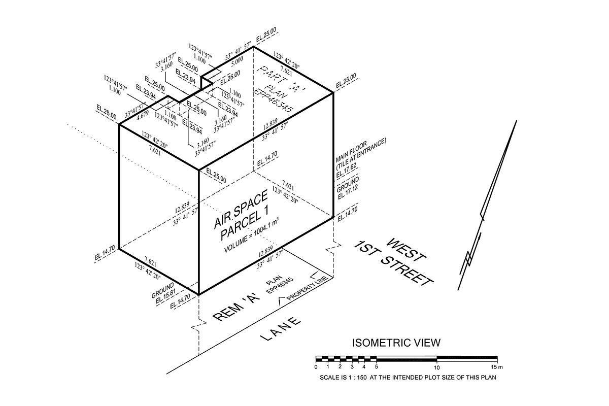 HWM Surveys BC Legal Airspace Land Surveyors